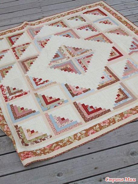 Log Cabin Patchwork Patterns - 89 best images about log cabin quilt patterns on