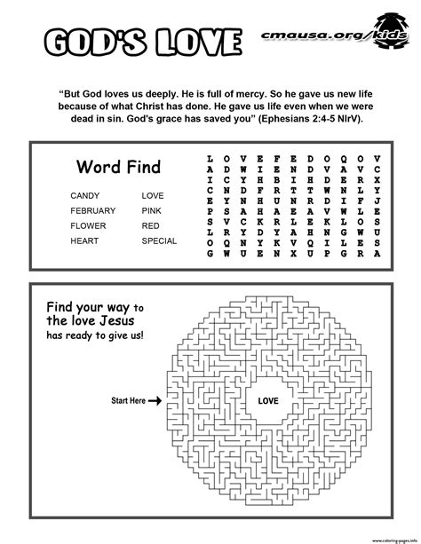 printable christian activity sheets jesus gods love activity sheet religion coloring pages