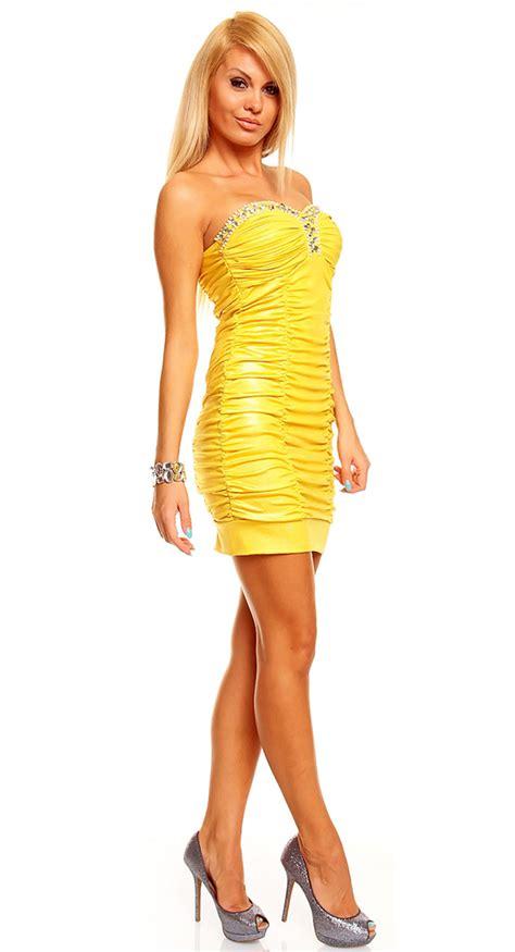 02 Dress Tali Ribbon Yelow dress tentation yellow n5146