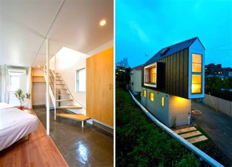 design management japan super skinny horinouchi house might be the most efficient