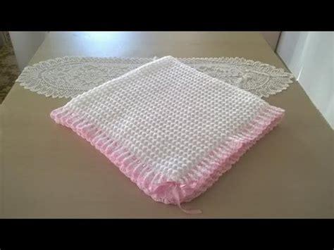 como hacer colchas para bebe manta para beb 233 en crochet o ganchillo youtube