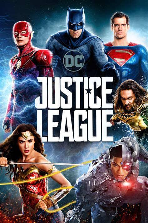 justice league en film justice league 2017 posters the movie database tmdb