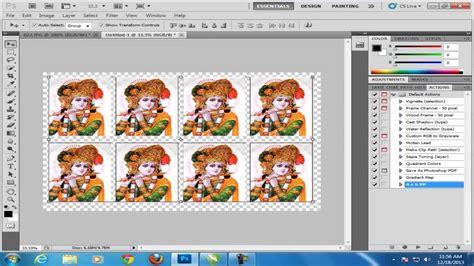 tutorial photoshop x6 photoshop tutorial in hindi arrange passport photo in to