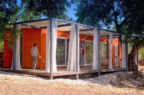 nomad living by studio arte is a shipping container retreat