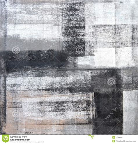 painting greys grey and black abstract art painting royalty free stock