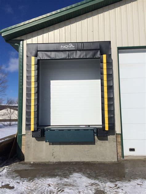 Loading Dock Door Seals Shelters St Cloud Mn Adw St Cloud Overhead Door