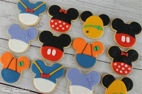 mickey mouse clubhouse sugar cookies cakecentral