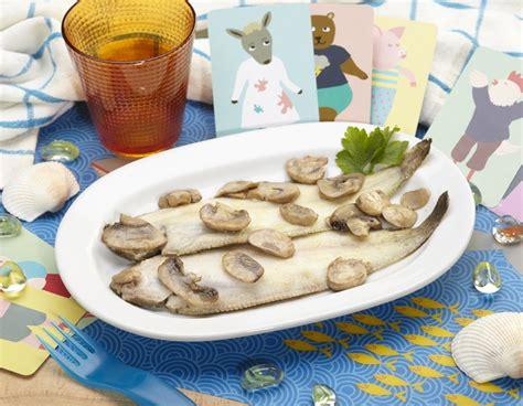 funghi bambini alimentazione sogliola al forno con funghi