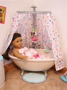 american doll play our doll play area the bathroom