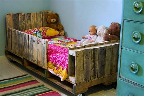 pallet toddler bed pallet furniture recycling pallets into unique furniture