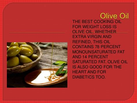 best cooking 7 best cooking oils for weight loss