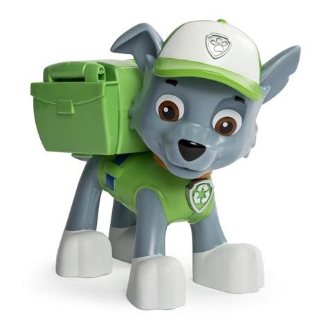 what of is rocky from paw patrol spin master paw patrol paw patrol jumbo pup rocky