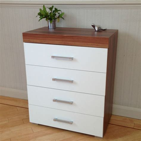 walnut bedroom drawers chest of 4 drawers in white walnut bedroom furniture