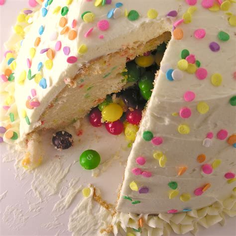candy surprise cake easybaked