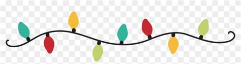 christmas lights png transparent images  fairy lights banner png  transparent png