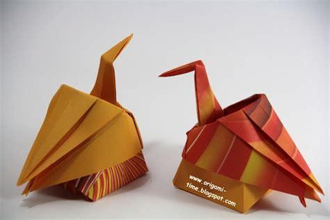 Origami Sitting - origami time origami sitting crane origami diagrams
