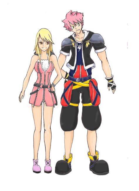 Th Sleep Dress Cat natsu and in kingdom hearts au colored by kimikopl on