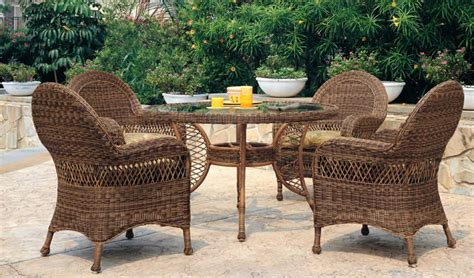 patio renaissance riveierra wicker outdoor dining