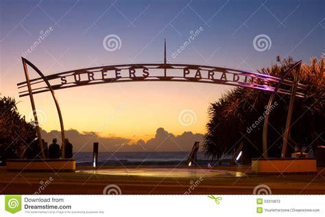 wallpaper stockists gold coast surfers paradise arch stock photo image 53310612