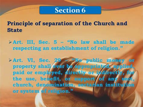 section 6 of the constitution article 2 philippine constitution
