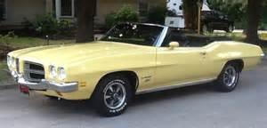 72 Pontiac Lemans 1972 Pontiac Lemans Sport Convertible