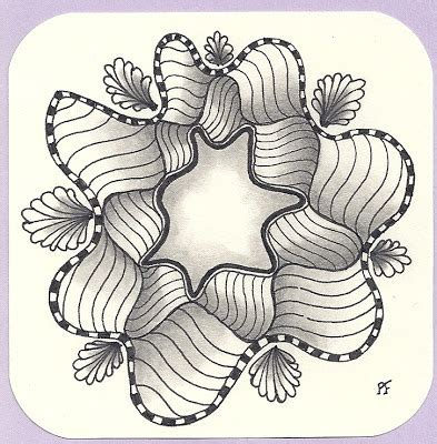 zentangle pattern groovy tangle with me quot groovy quot weekly challenge 69