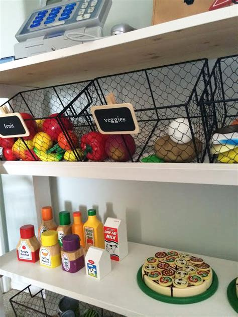 diy kids grocery stand the idea room