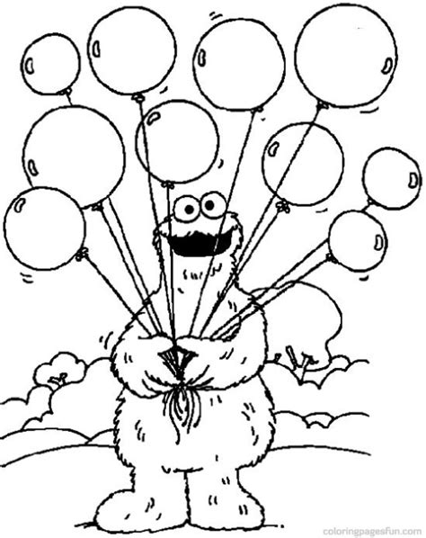 sesame street coloring pages getcoloringpages com