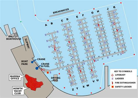 yacht club layout marina map and information hyc ie