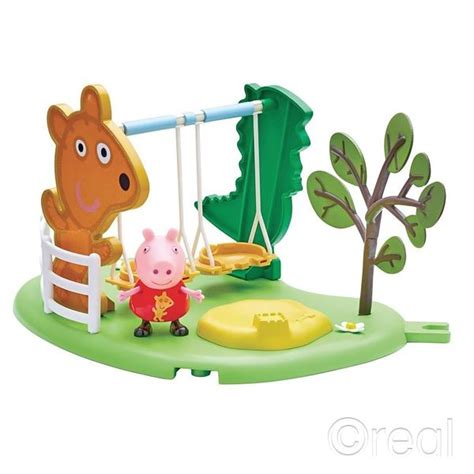 peppa pig swing new peppa pig outdoor swing or slide playset
