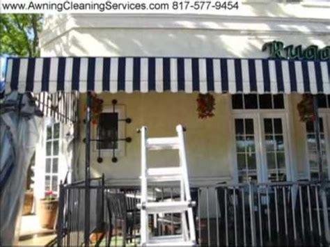 awning cleaning to remove mildew mold dallas fort worth tx