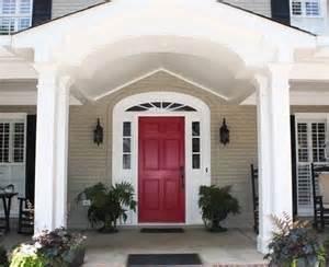 Sherwin Williams Black Bean best front door colors for a beige home kelly bernier