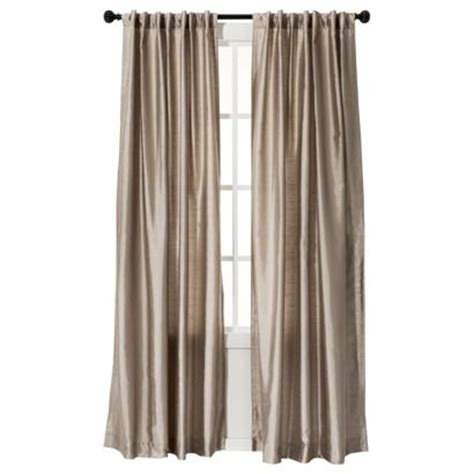 threshold faux silk curtains 17 best images about window treatments on pinterest