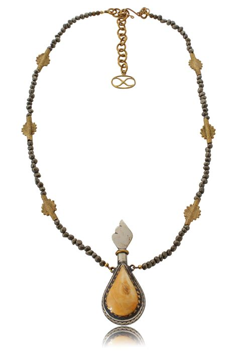 Etnic Necklace eurgain necklace with unique ethnic pendant shikhazuri jewellery