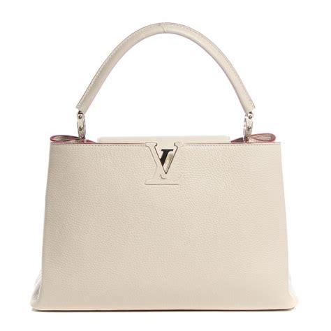 Arrival Louis Vuitton Capucines 3147 louis vuitton taurillon capucines mm blanc casse 98936