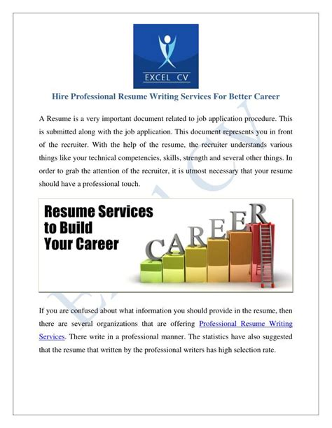 ppt resume writing services india resume service powerpoint presentation id 7291044