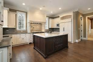 Dark Wood Kitchen Island by Terrific Gourmet Kitchens And Cabinets And Kitchen Island