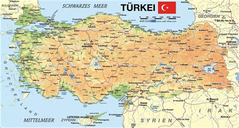 map turkey geography turkey and climate change