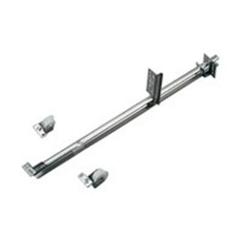 nylon roller drawer slides knape and vogt kv 1175p zc 24 24in 50lb center mount 3 4
