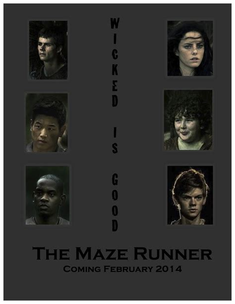 The Maze Runner Movie Poster Fan Made The Maze Runner | 17 best images about the maze of runner on pinterest