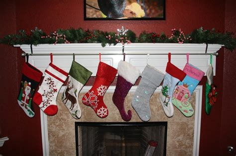 christmas stocking holder for mantle where you can keep