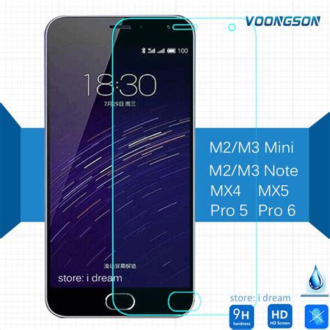 Tempered Glass Zu M2 Note voongson tempered glass for meizu mx6 m2 mini m3 mini m3 note mx5 pro 5 antiexplosion screen