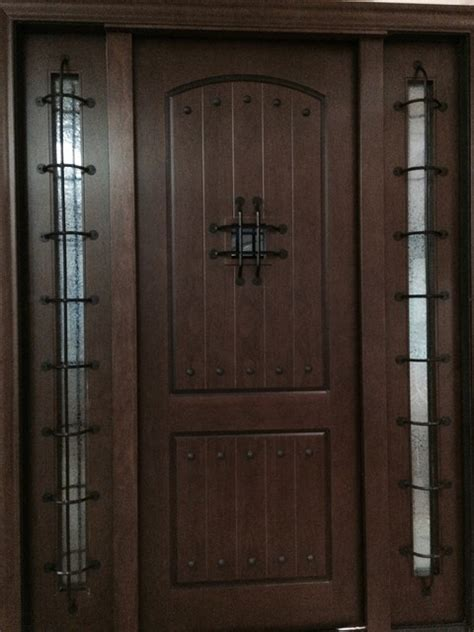 metal front doors for homes rustic alder exterior home front entry door metal