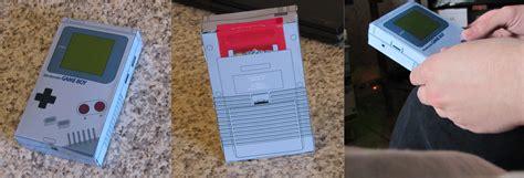 Gameboy Papercraft - boy papercraft fix by calcifer92 on deviantart