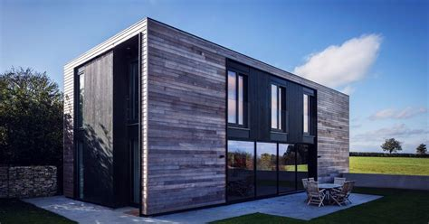 building modular homes prefab kiss house designed to passive house standards