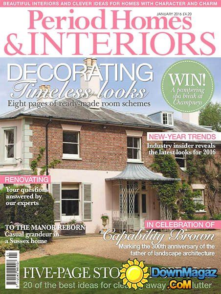 period homes interiors magazine period homes interiors uk january 2016 187 pdf