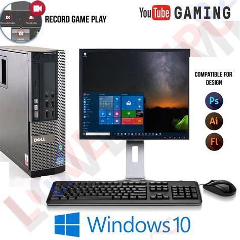 Pc I5 Ram 8gb windows 10 gaming computer pc intel i5 8gb ram 1tb