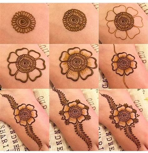 henna tattoo designs for beginners step by step 20 step by step mehndi designs for beginners bling sparkle