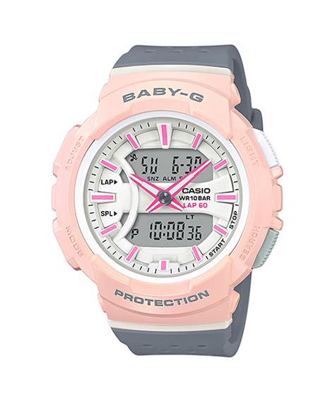 Casio Baby G Original Wanita Bga 240 1a1 bga 240 4a2 athleisure series baby g timepieces casio