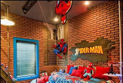 spiderman bedroom ideas if you try these 19 designs your kids will love you for